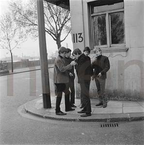 ROLLING STONES-FIRST PHOTO SHOOT-PHILIP TOWNSEND