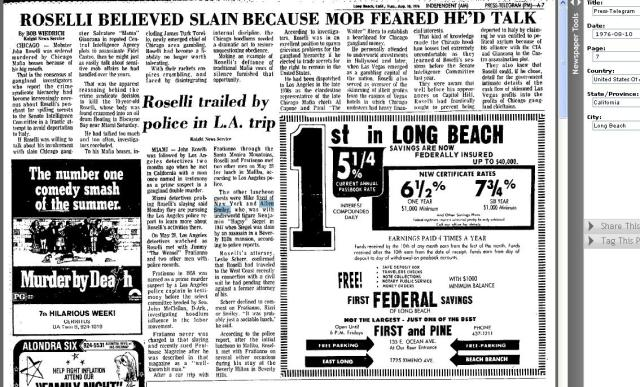 MWSnap1978 ROSELLI DEATH