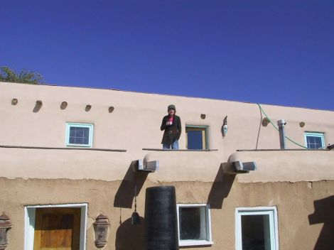 me on the roof