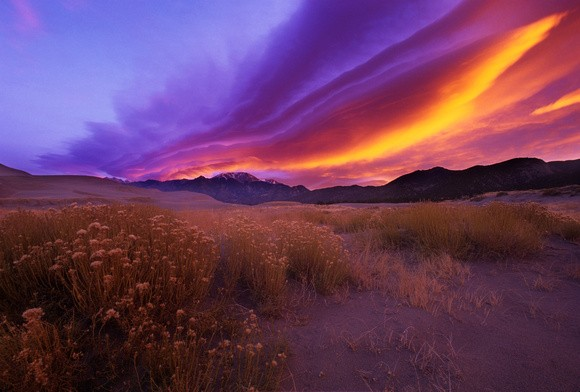 Taos-sangre-de-christo-mountains-sunset