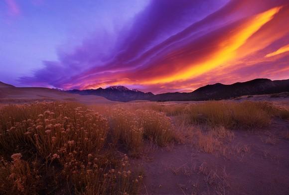 Taos-sangre-de-christo-mountains-sunset